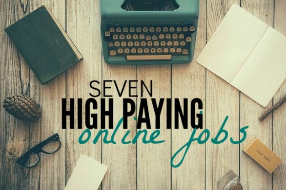 Looking for high paying online jobs? Here are seven legitimate and in demand jobs that have amazing income potential. Best of all - you get to work from home!