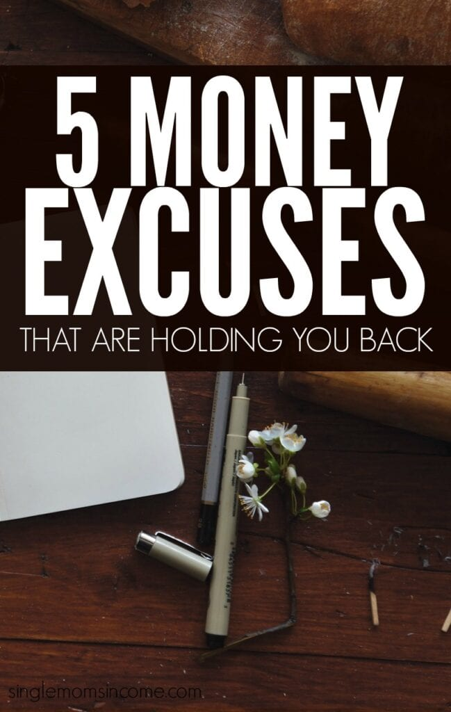 The best way to become better at managing your money this year is to get rid of your top money excuses and overcome your biggest challenges.