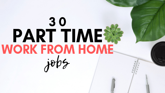 Looking to make extra money on your own schedule? If so, here are 30 part time work from home jobs. Also listed is the hourly pay and hours.
