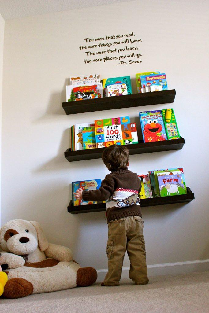 Creative Kids Bookshelf Ideas
