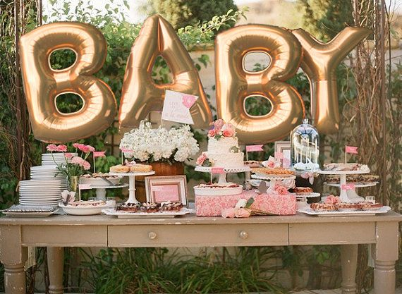 Arrange A Small Baby Shower