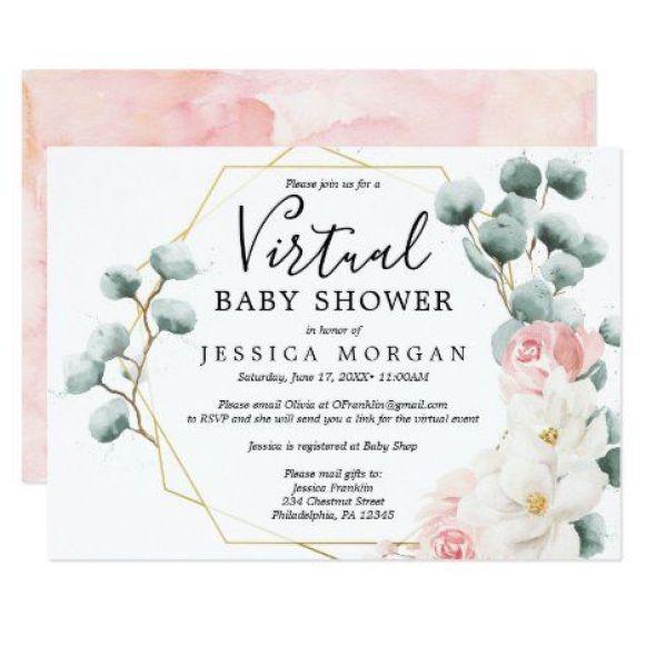 Throw A Virtual Baby Shower