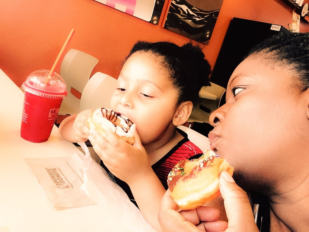 Donuts with mom pic 2