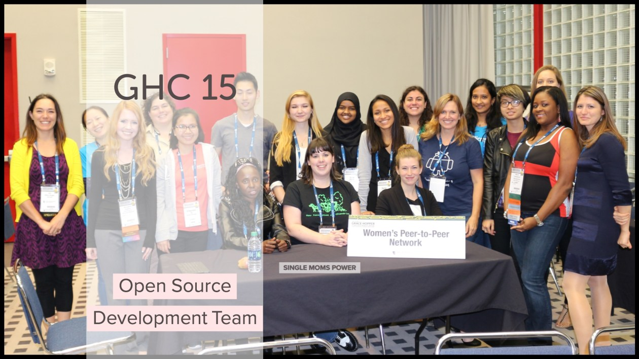 GHC 15 Open Source