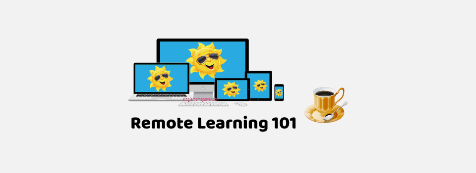 Remote Learning 101 by Single Moms Power