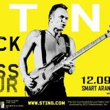 STING : BACK TO BASS Concert – Ticket Information Upate