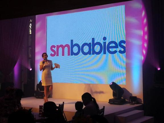SM Babies Launch was hosted by the gorgeous TV host and mom, Issa Litton - Photo from SM Babies