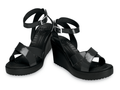 Crocs Rio Wedge - Black