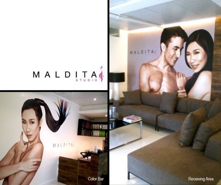 MALDITA STUDIO Recieving and Color Bar
