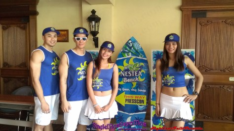 Nestea Beach Models