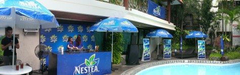 Nestea Beach Umbrellas