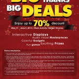 Sony Sale Big Deals at Trinoma