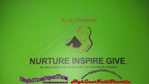 Wyeth Nutrition Nurture Inspire Give
