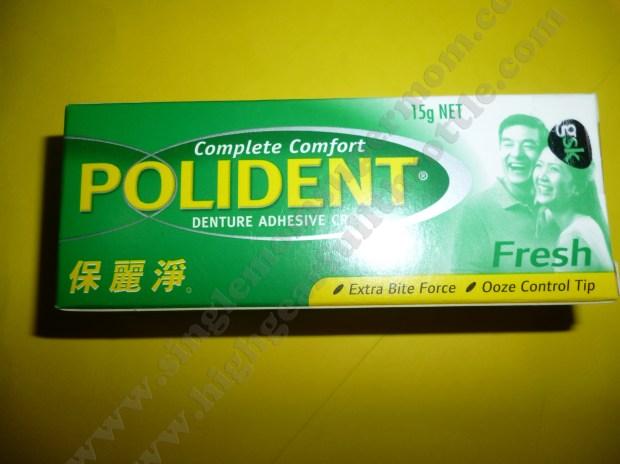 Polident Denture Adhesive Cream