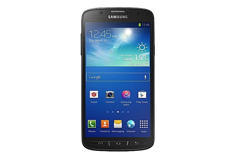Samsung S4 Active front