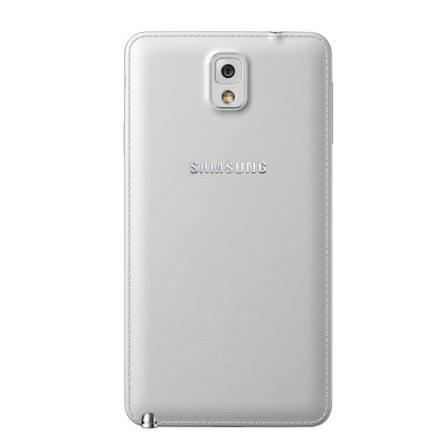 Samsung Note 3 Classic White back