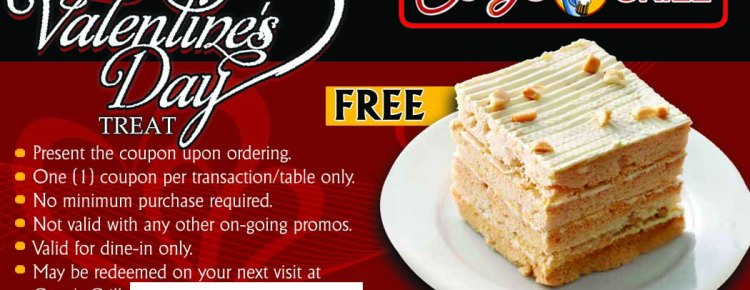 gerrys grill valentines promo