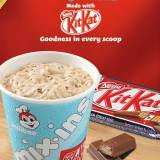 ‪Jollibee KIT KAT Mix-ins newest Mix-in