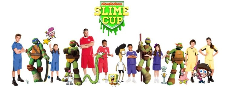 Nickelodeon Slime Cup Teams 2014