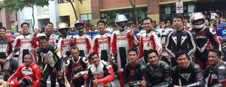 Ducati Phillipines at Globe Slipstream 2014