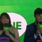 Matteo Guidicelli and Jessy Mendiola for LINE