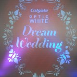Colgate Optic White Dream Wedding Launch