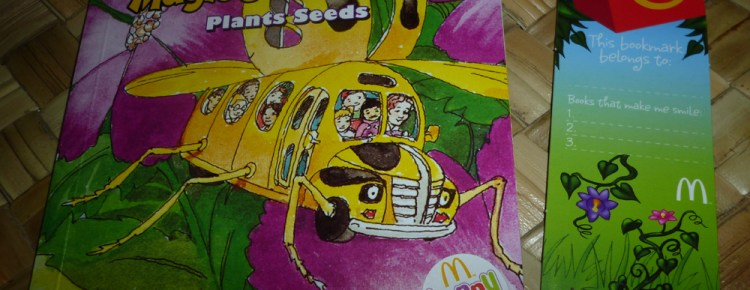 McDonalds Happy Meal Books b