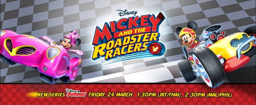 Mickey and the Roadster Racers Premiering March 24