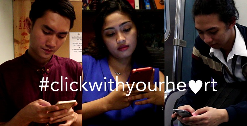 Mr. Click Inspires to #ClickWithYourHeart this Valentine