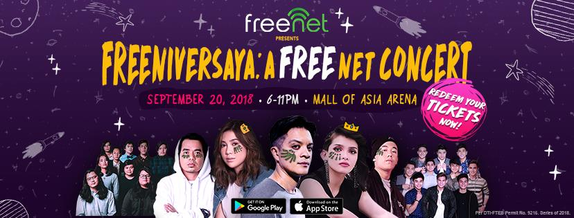 Five reasons why you should join the saya at the Freeniversaya: A FREEnet Concert on September 20!