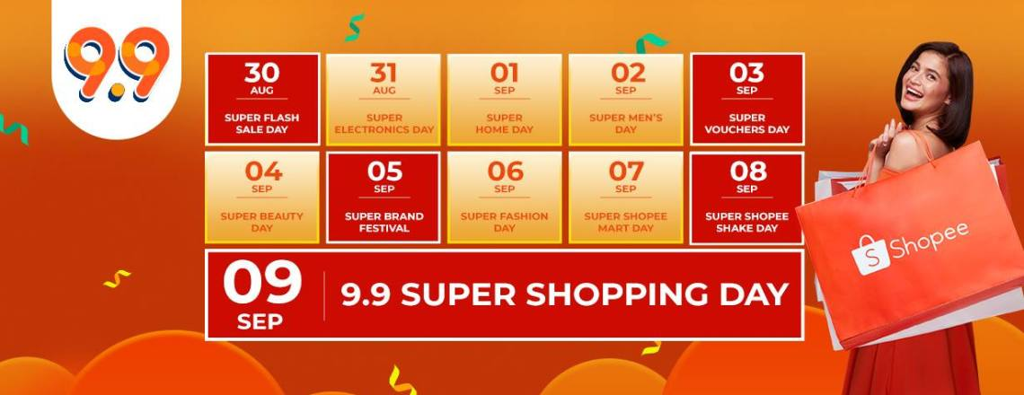Shopee 9.9 Super Shopping Day Galore