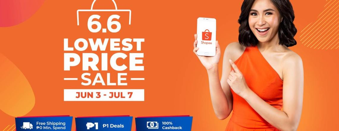 Sarah Geronimo as new brand ambassador in time for Shopee 6.6 – 7.7 Lowest Price Sale