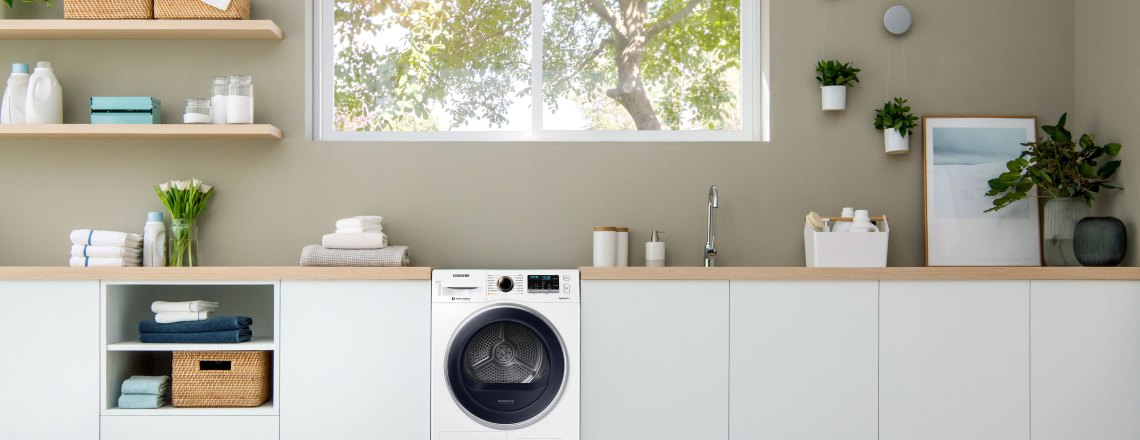 Samsung's Heatpump Dryer is a  great investment for your home
