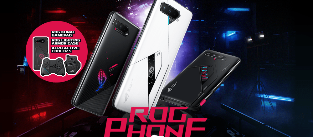 ROG PHONE 5 SERIES, AVAILABLE STARTING APRIL 10, 2021