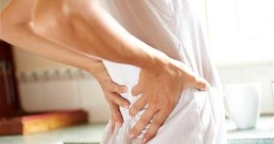 sau sinh khi thường đau lưng
