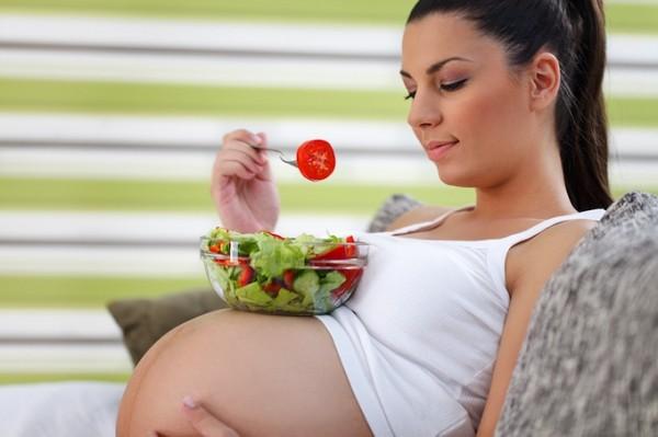 mang thai tháng thứ 8