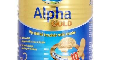 Sữa Dielac Alpha Gold – Sự lựa chọn hoàn hảo cho sự phát triển trí não trẻ