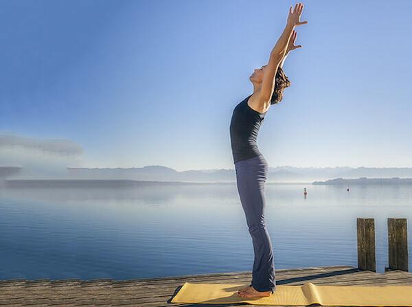 Các bài tập yoga tăng chiều cao