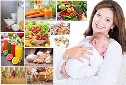 Kết quả hình ảnh cho phụ nữ sau sinh không nên ăn gì