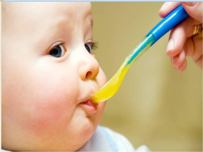 giai đoạn cho bé ăn bột