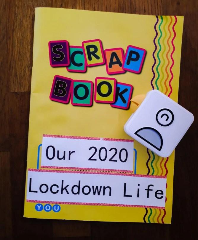 Scrapbook about lockdown