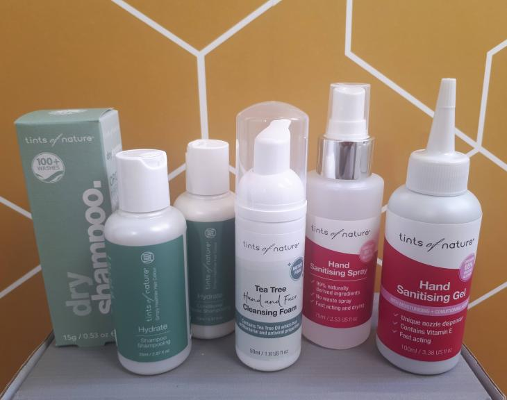 Tints of Nature Products