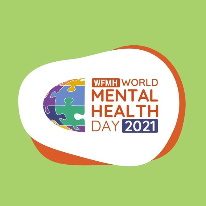 World Mental Health Day 2021 Logo.