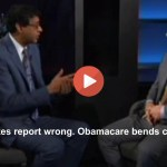 Bill Maher guest: 60 Minutes wrong. Obamacare is bending cost curve (VIDEO)