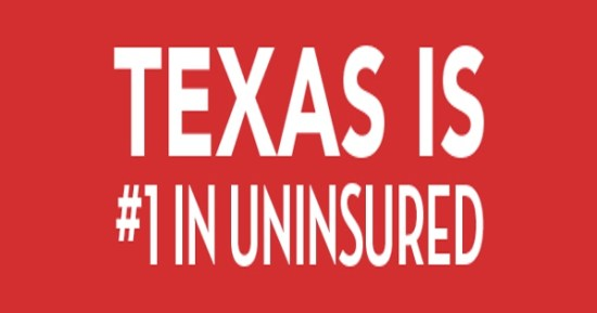 Texas Is #1 in the uninsured