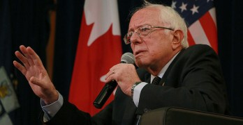 Bernie Sanders Goes to Canada for Health Care Inspiration
