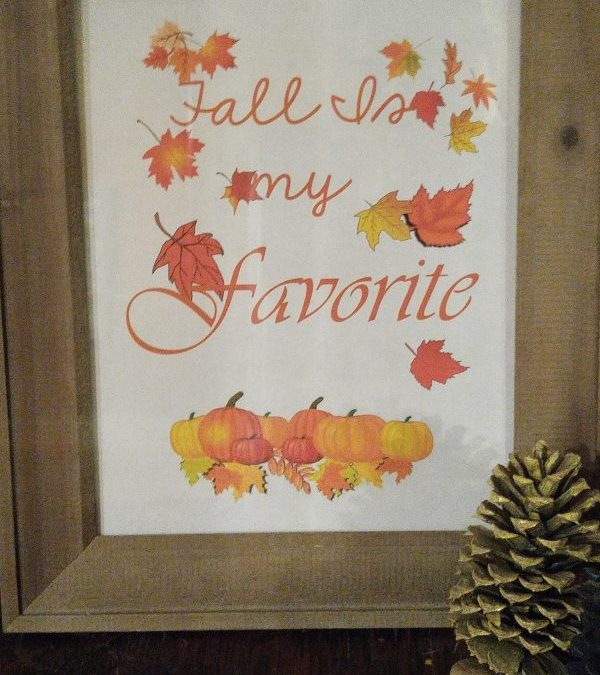 Fall Is My Favorite