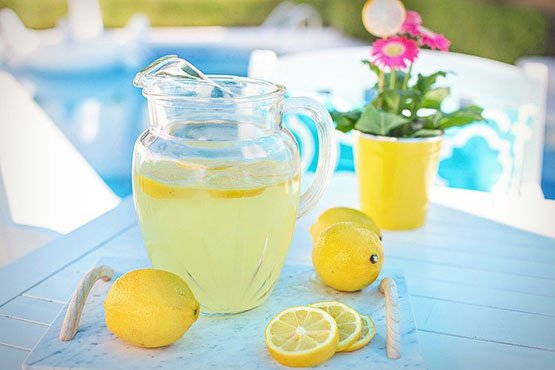 Lemonade recipes. Unique and totally different.