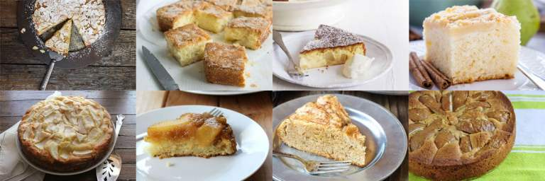Pear cake recipes. Moist and lightly sweet.
