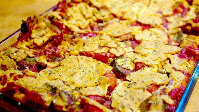 Low Fat, Vegan Lasagna Recipe